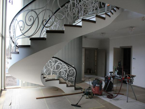 Completed Stairs